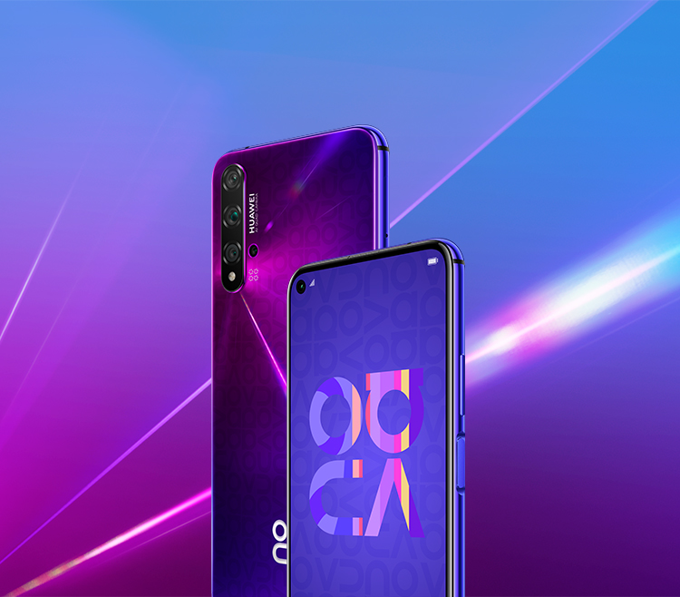 HUAWEI nova 5T color purple