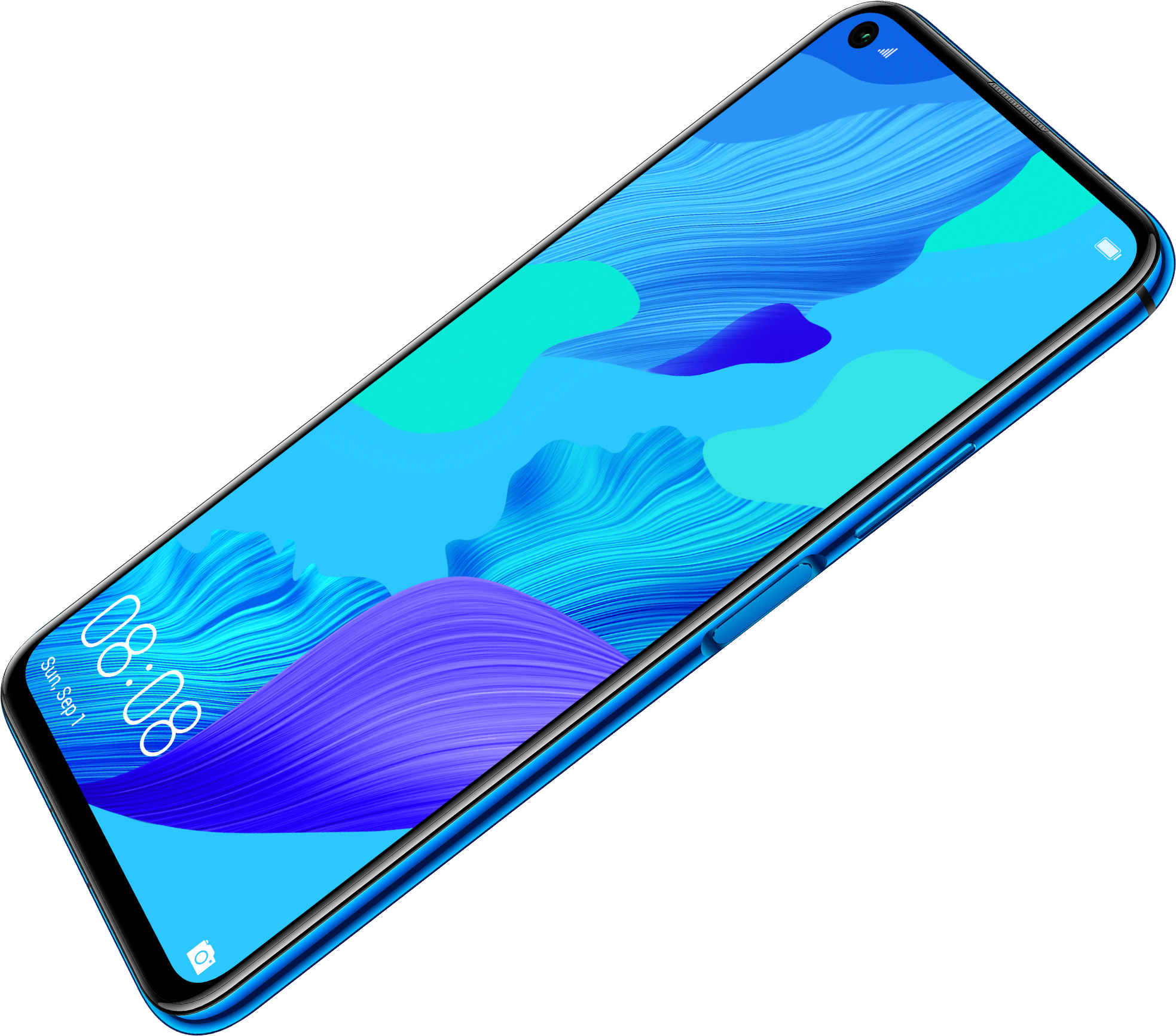 HUAWEI nova 5T side mounted fingerprint