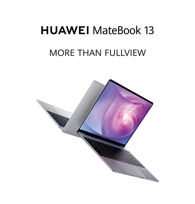 HUAWEI MateBook 13, ultra-slim laptop, blue light filter