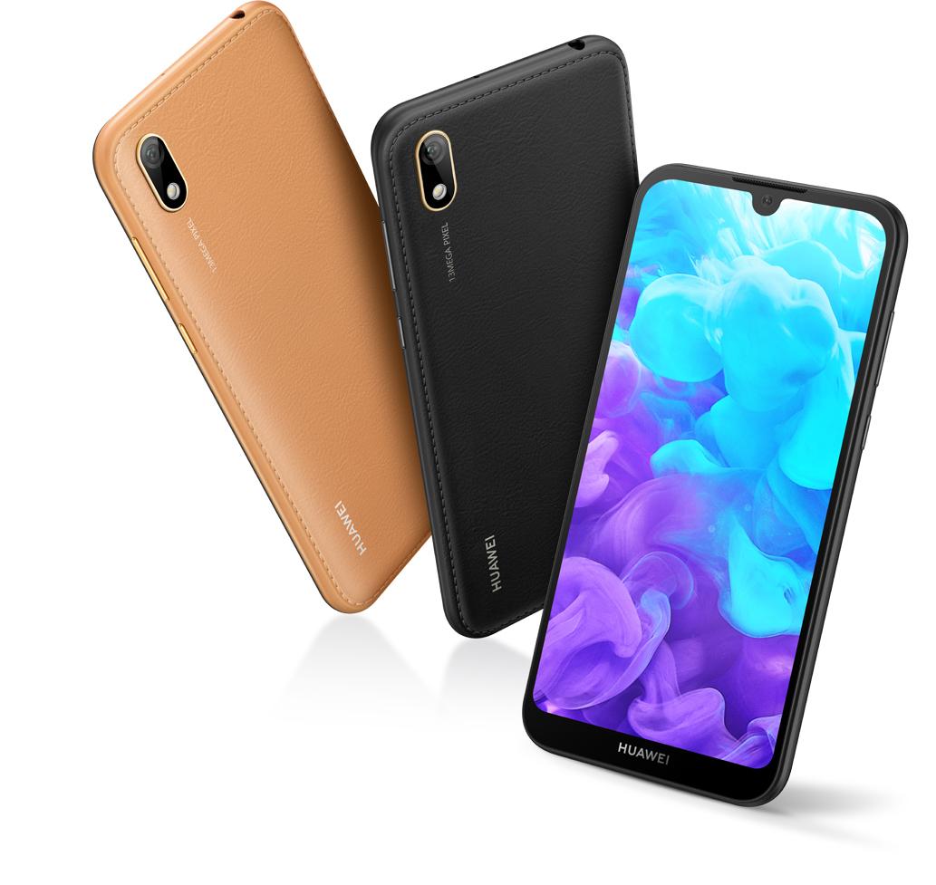 HUAWEI Y5 2019, Faux-Leather Design, Best Budget 32 GB Storage