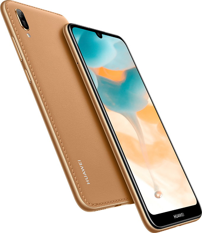 HUAWEI Y6 2019, Dewdrop HD Display, Unique Colour Shell