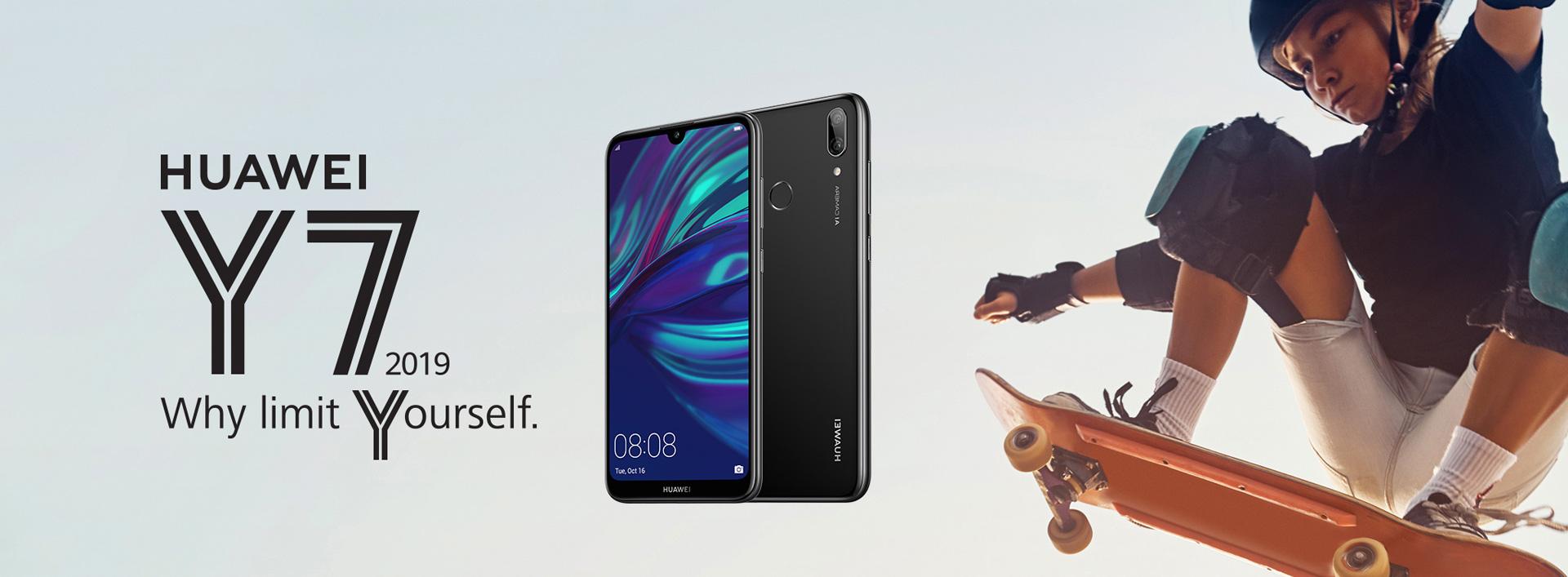 HUAWEI Y7 2019, big screen, big battery, dual AI camera