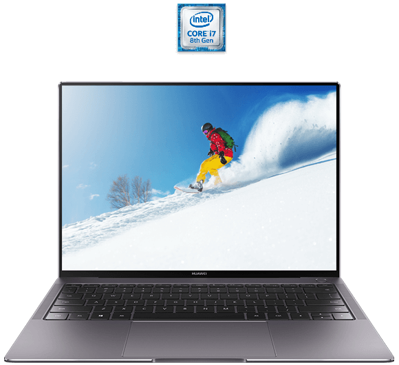 HUAWEI MateBook X Pro with Intel Core processor Intel Core processor
