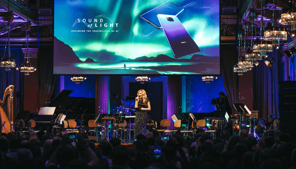 The event in Vienna - an evening of AI, music and the Northern Lights