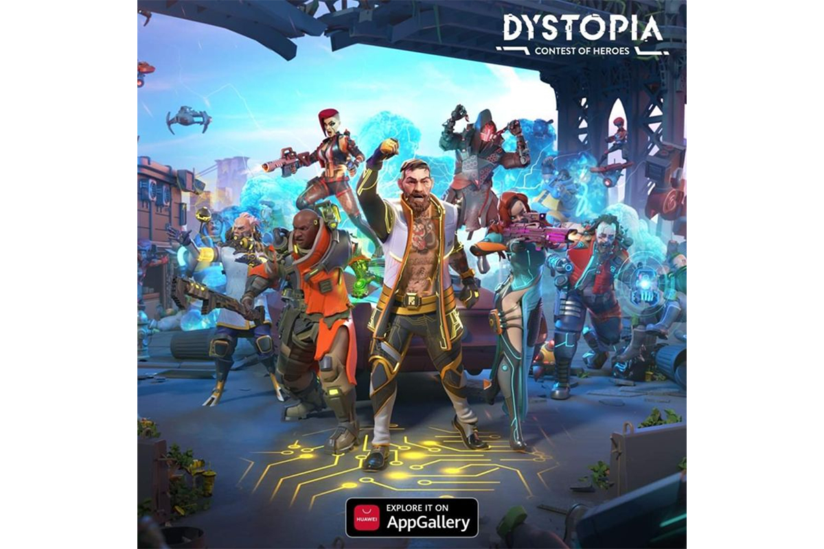 Dystopia: Contest of Heroes Launches Exclusively on AppGallery