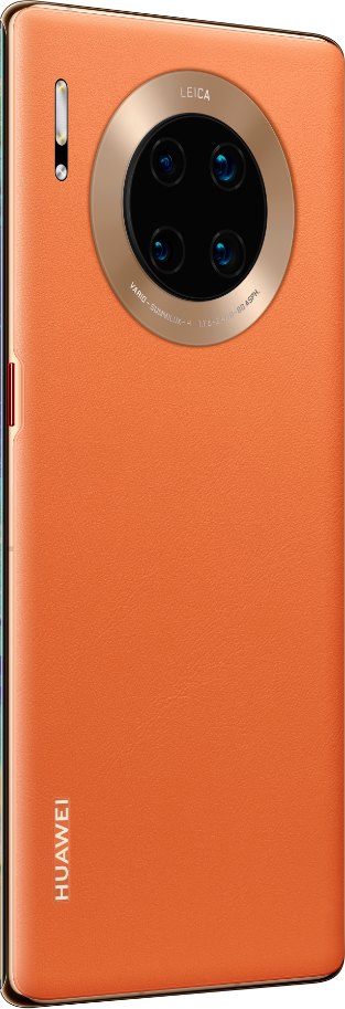 HUAWEI Mate 30 Pro 5G forest orange back