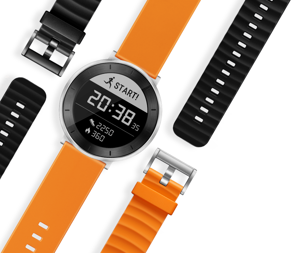 Accurate heart rate monitoring, 5ATM water resistant