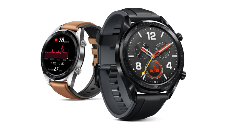 Huawei представила умные часы HUAWEI WATCH GT