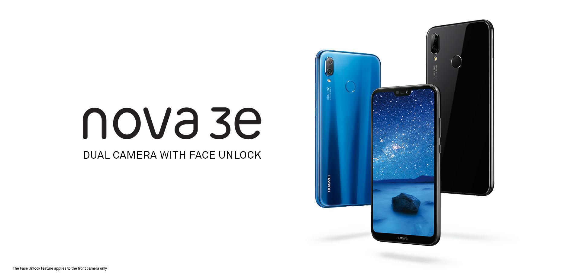 pretty nice 8388e fd78a HUAWEI nova 3e | Mobile Phones | HUAWEI Australia