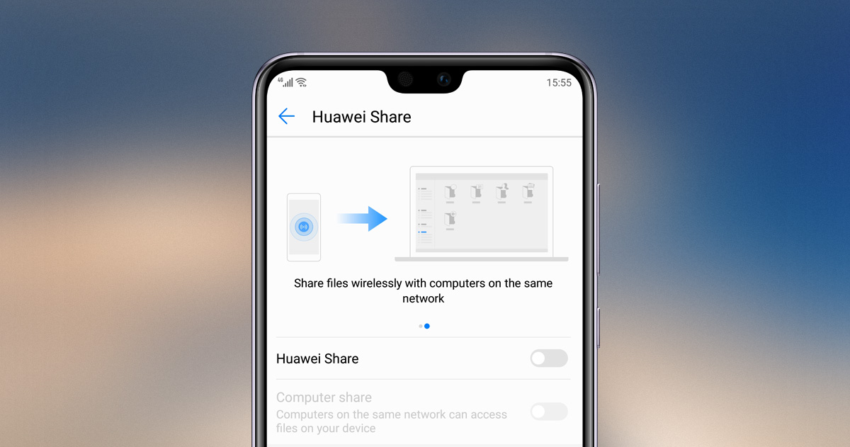 How to use Huawei Share 2.0 on HUAWEI P20 Series