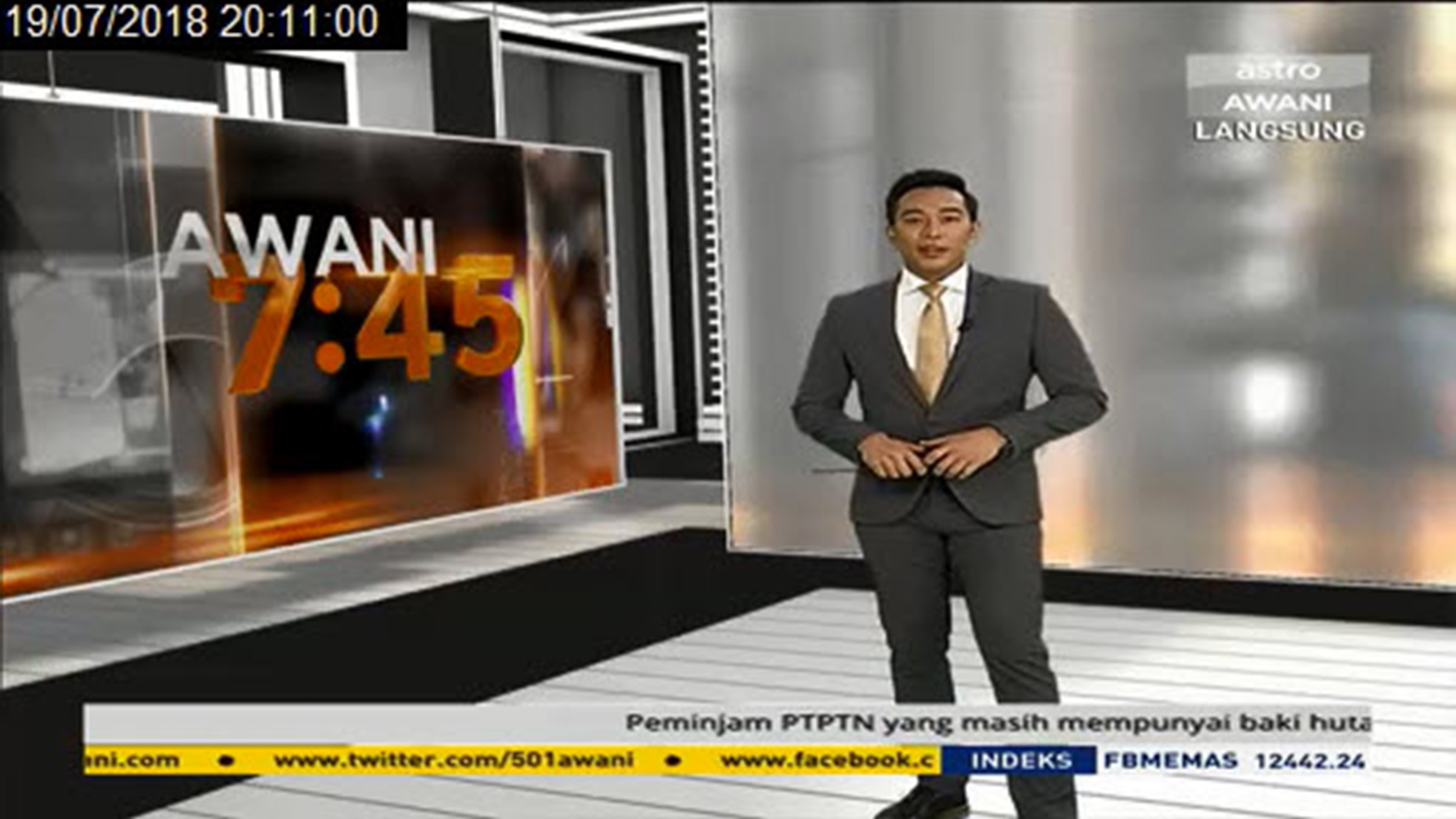 AWANI 745 19th July 2018- HUAWEI