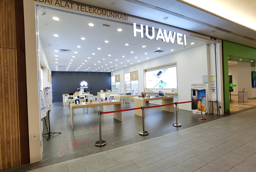 Huawei Experience Store (Mid Valley Southkey)