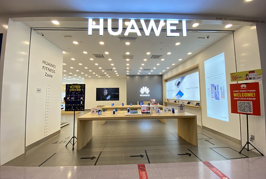 Huawei Experience Store (Sunway Pyramid)