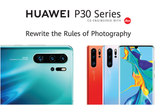 HUAWEI P30 Series Sales Launch