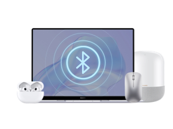 Connect via Bluetooth