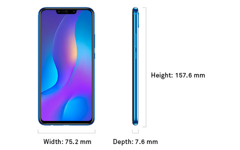 HUAWEI nova 3i - Specifications | HUAWEI Singapore