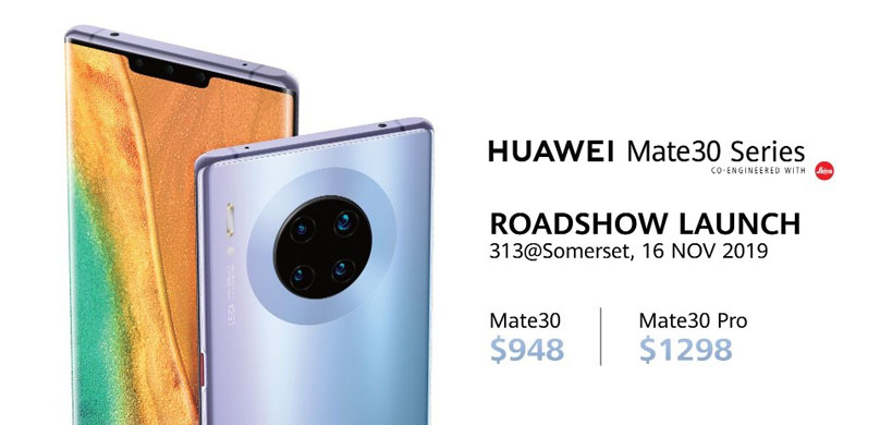 Explore New Possibilities with the HUAWEI Mate 30 Series from 16 November