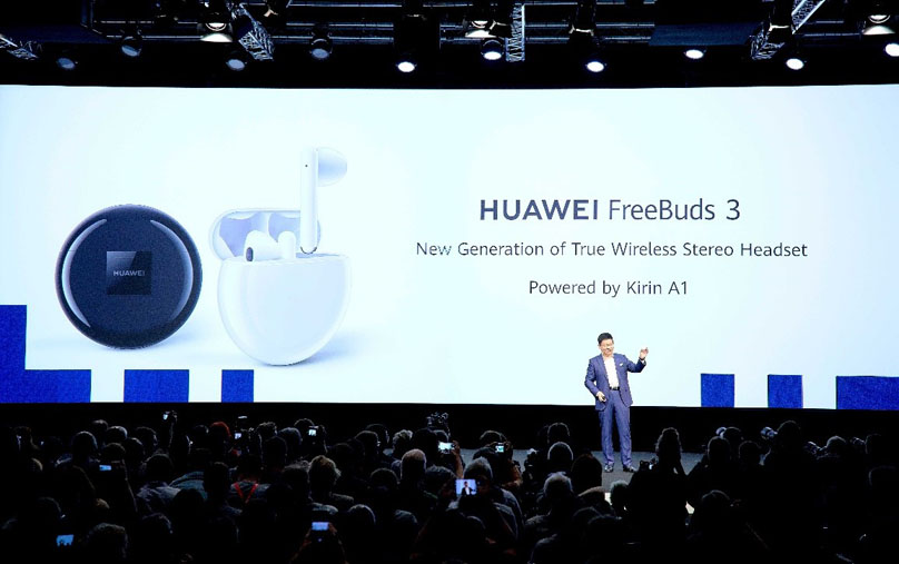 POWERED BY KIRIN A1 CHIP, HUAWEI FREEBUDS 3 USHER IN 
