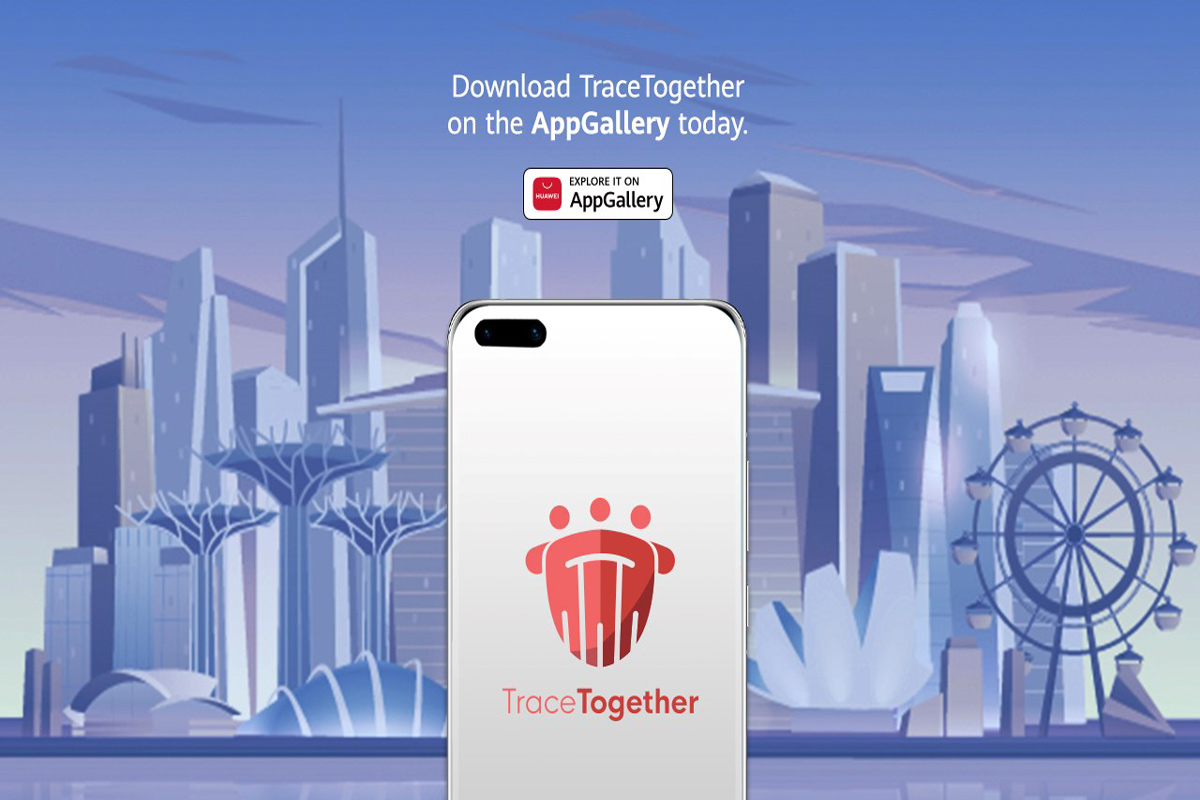 TraceTogether App Now Available in Huawei AppGallery