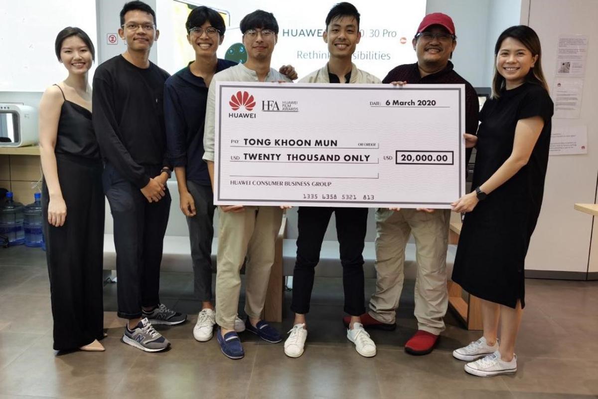 Singaporean Bags Grand Prize at APAC HUAWEI Film Awards