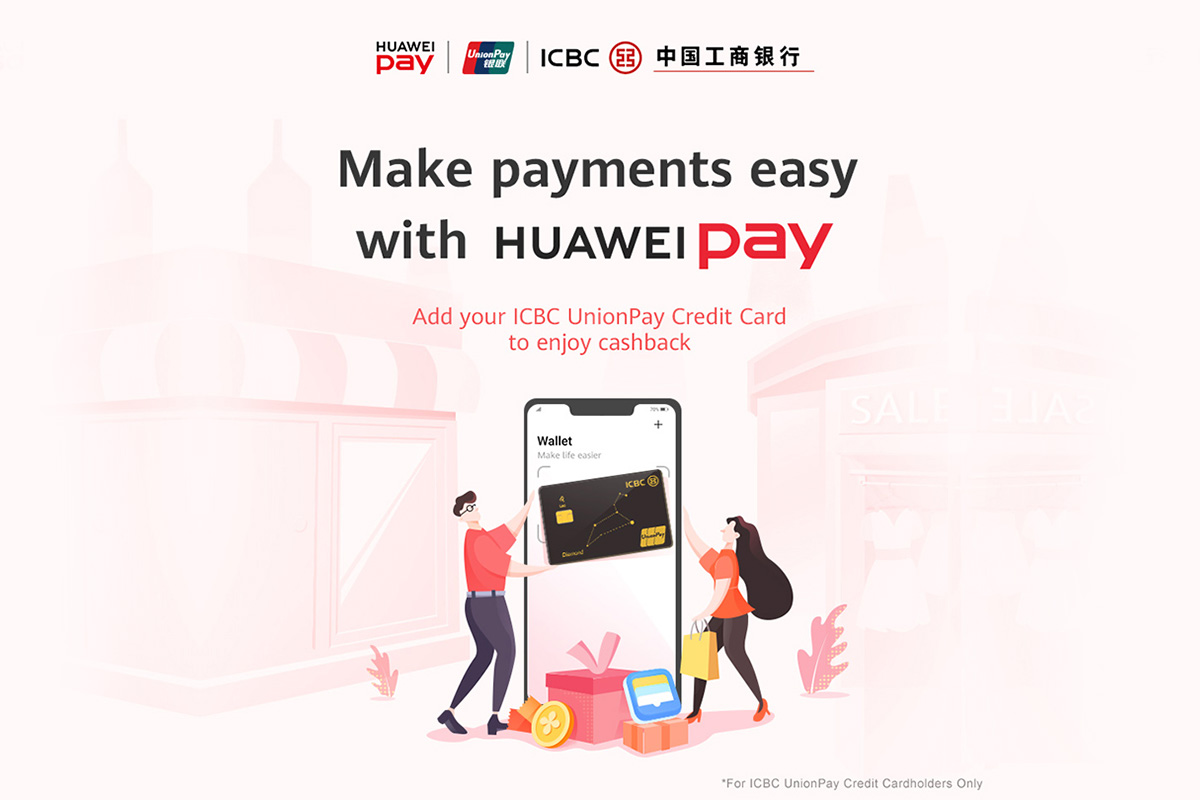 Huawei officially launches Huawei Pay in Singapore