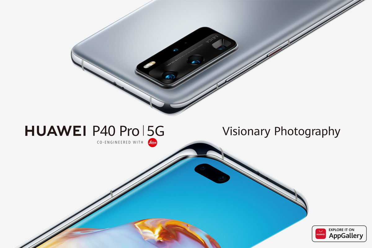 New 5G-ready HUAWEI P40 Series Officially Goes on Sale from April 4