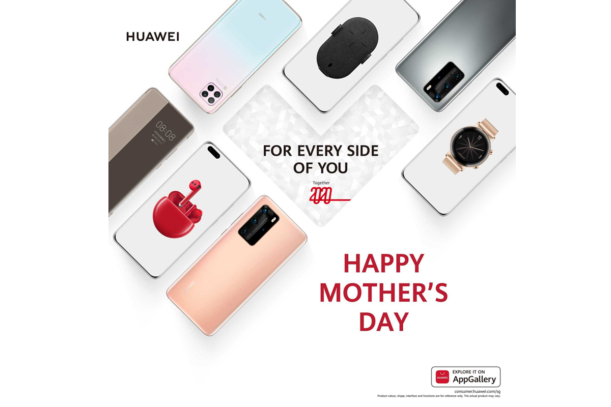 Huawei celebrates Mother's Day with the launch of HUAWEI WATCH GT 2e and special deals