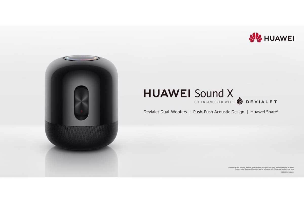 HUAWEI Sound X takes Hi-End Audio to New Heights