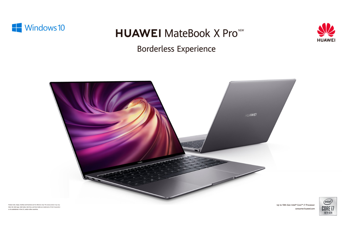 HUAWEI MateBook X Pro Now Available in Singapore