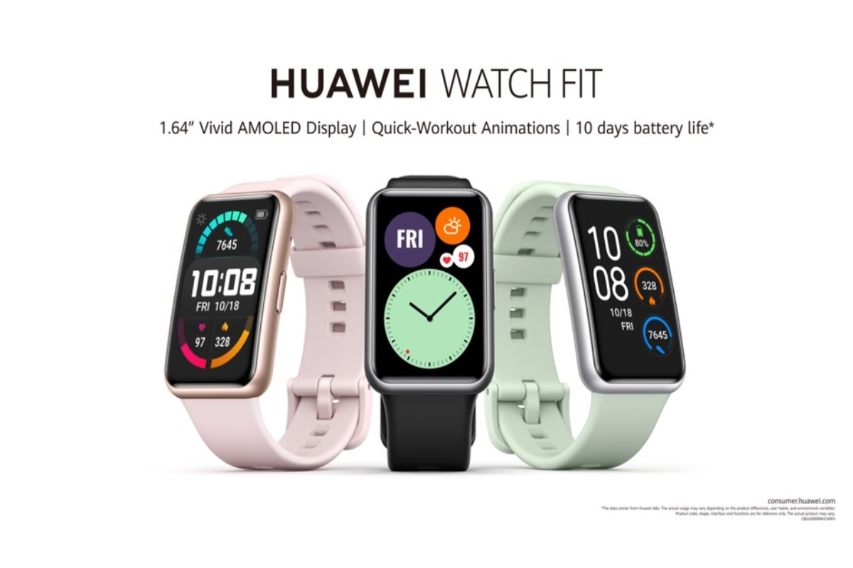 Huawei Launches Everyday Smartwatch HUAWEI WATCH FIT with Virtual Personal Trainer and Fitness Monitoring for a Healthier Lifestyle