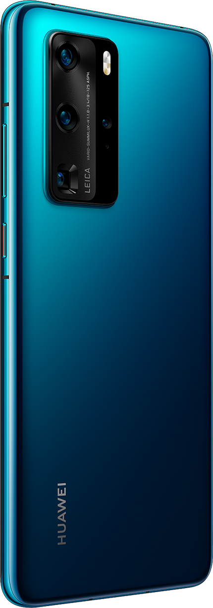 HUAWEI P40 Pro Deep Sea Blue Back