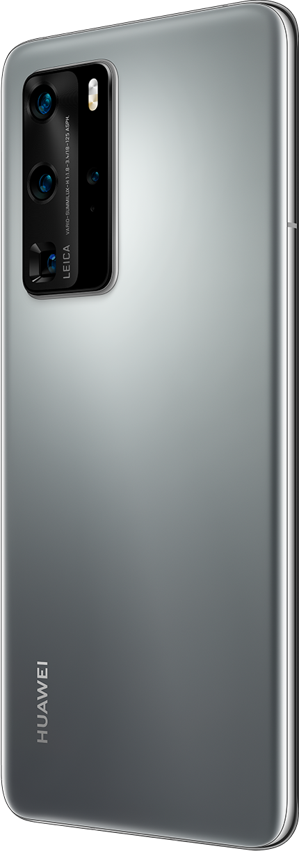 HUAWEI P40 Pro Silver Frost Back