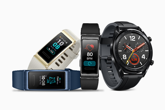 HUAWEI launches HUAWEI WATCH GT and HUAWEI Band 3 Pro