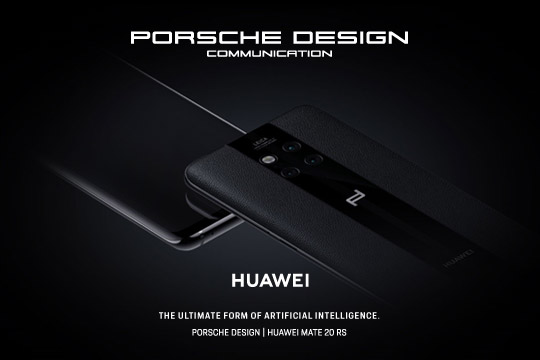 Porsche Design and Huawei reveal the new PORSCHE DESIGN HUAWEI Mate 20 RS