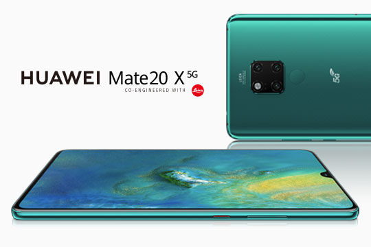 5G is Here: Huawei Launches Its First Commercial 5G Smartphone HUAWEI Mate 20 X (5G)