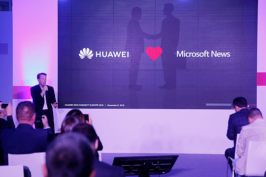 New Huawei Assistant delivers premium services with leading global brands Partners to power device-optimised news feed and content