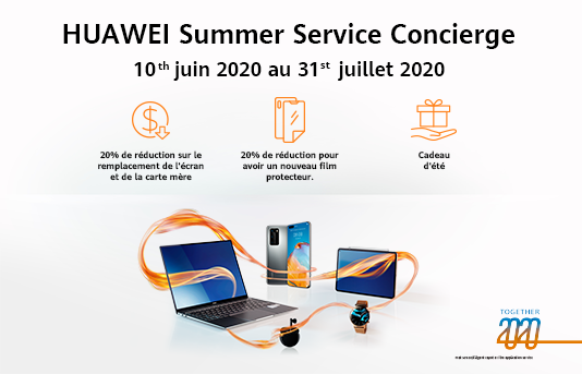 HUAWEI Summer Service Concierge