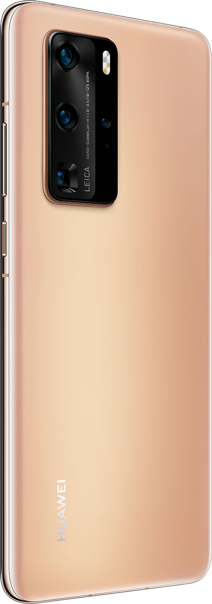HUAWEI P40 Pro Blush Gold Back
