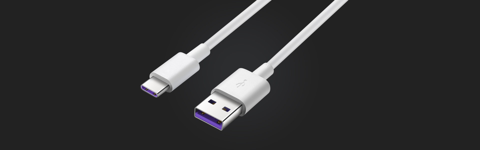 Inklusive 5A-USB-C-Kabel