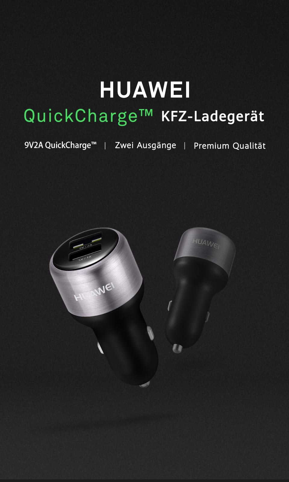 HUAWEI QuickCharge™ Car Charger KV