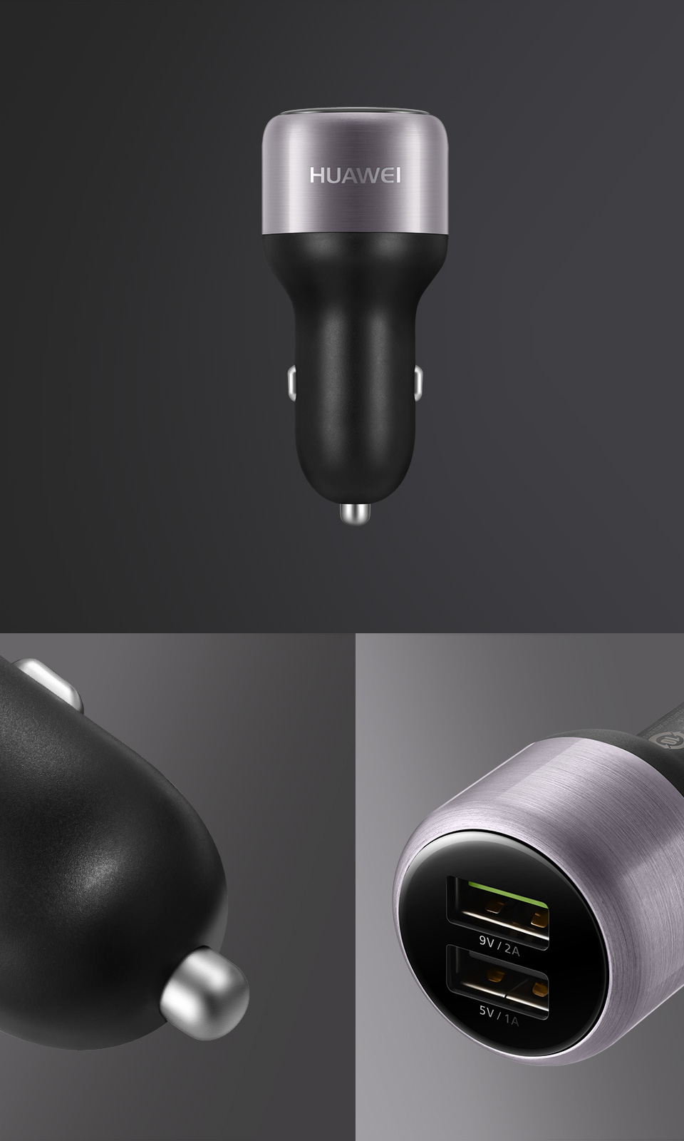HUAWEI QuickCharge™ Car Charger Design
