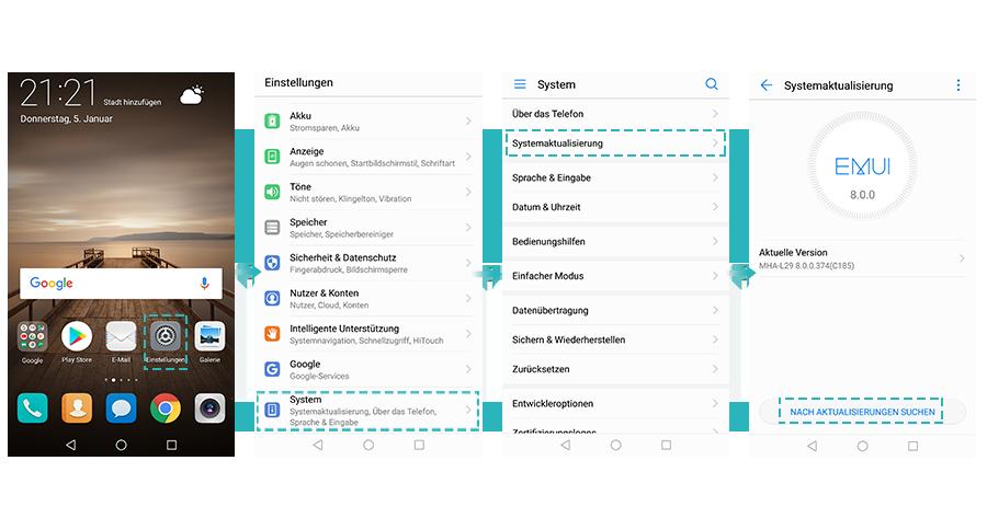Wie Kann Ich Mein Mobilgerät Aktualisieren Huawei System