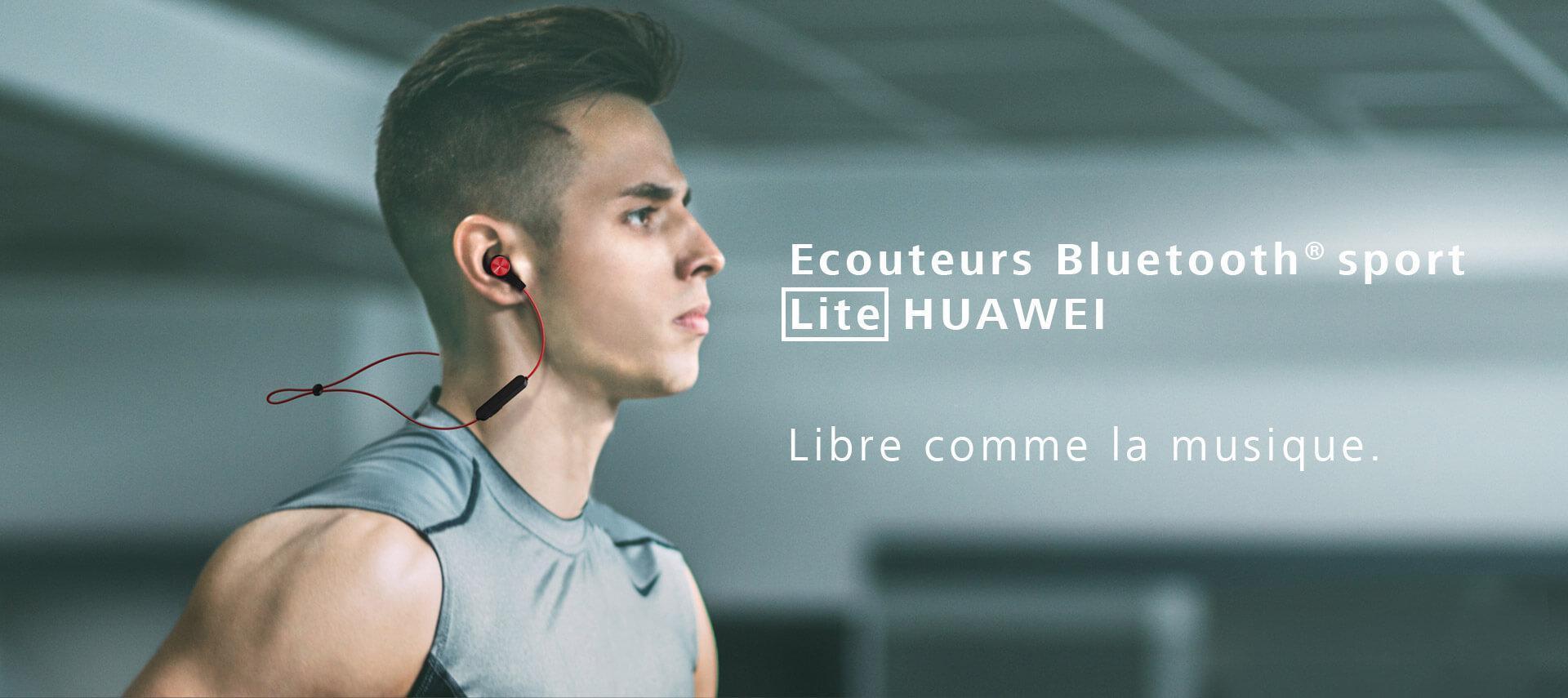 Ecouteurs Huawei Sport Lite   HUAWEI FRANCE