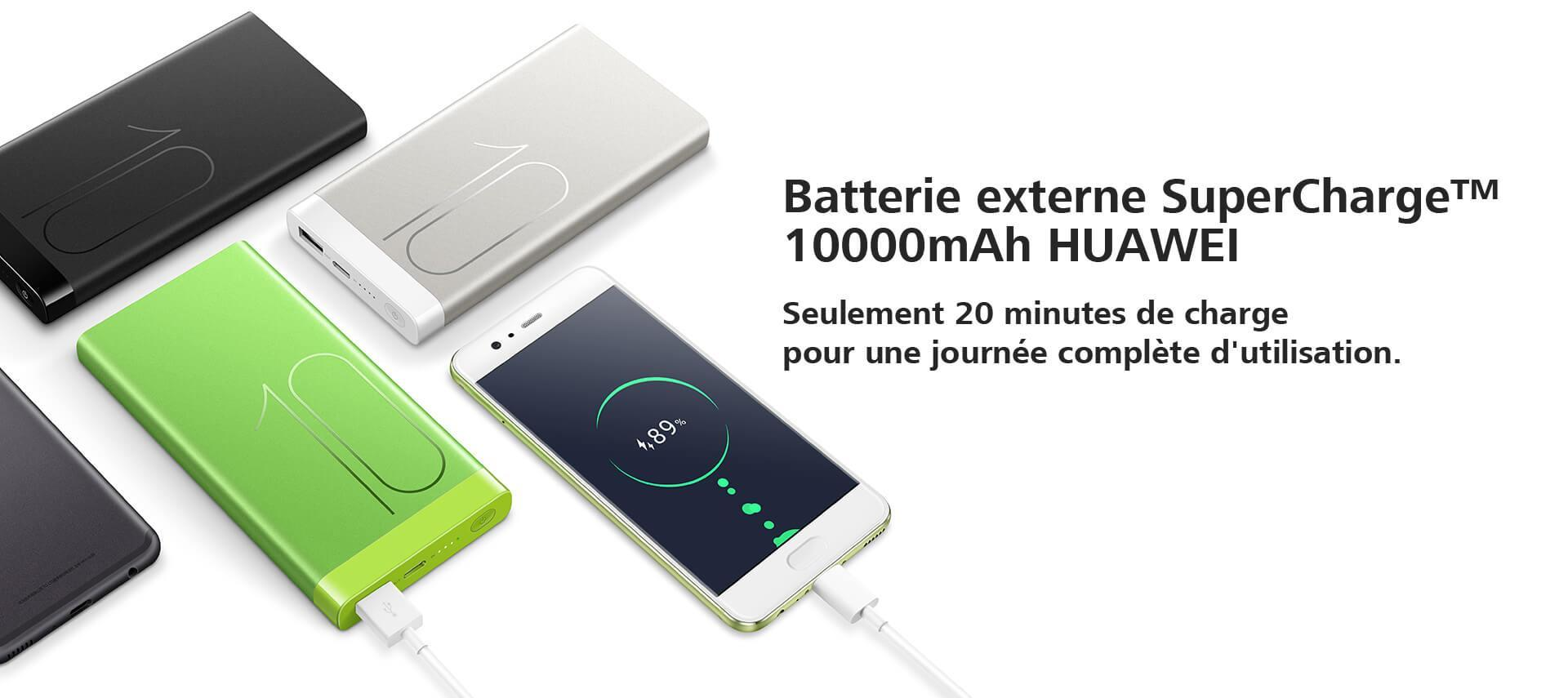 Batterie externe SuperCharge™ 10000mAh HUAWEI