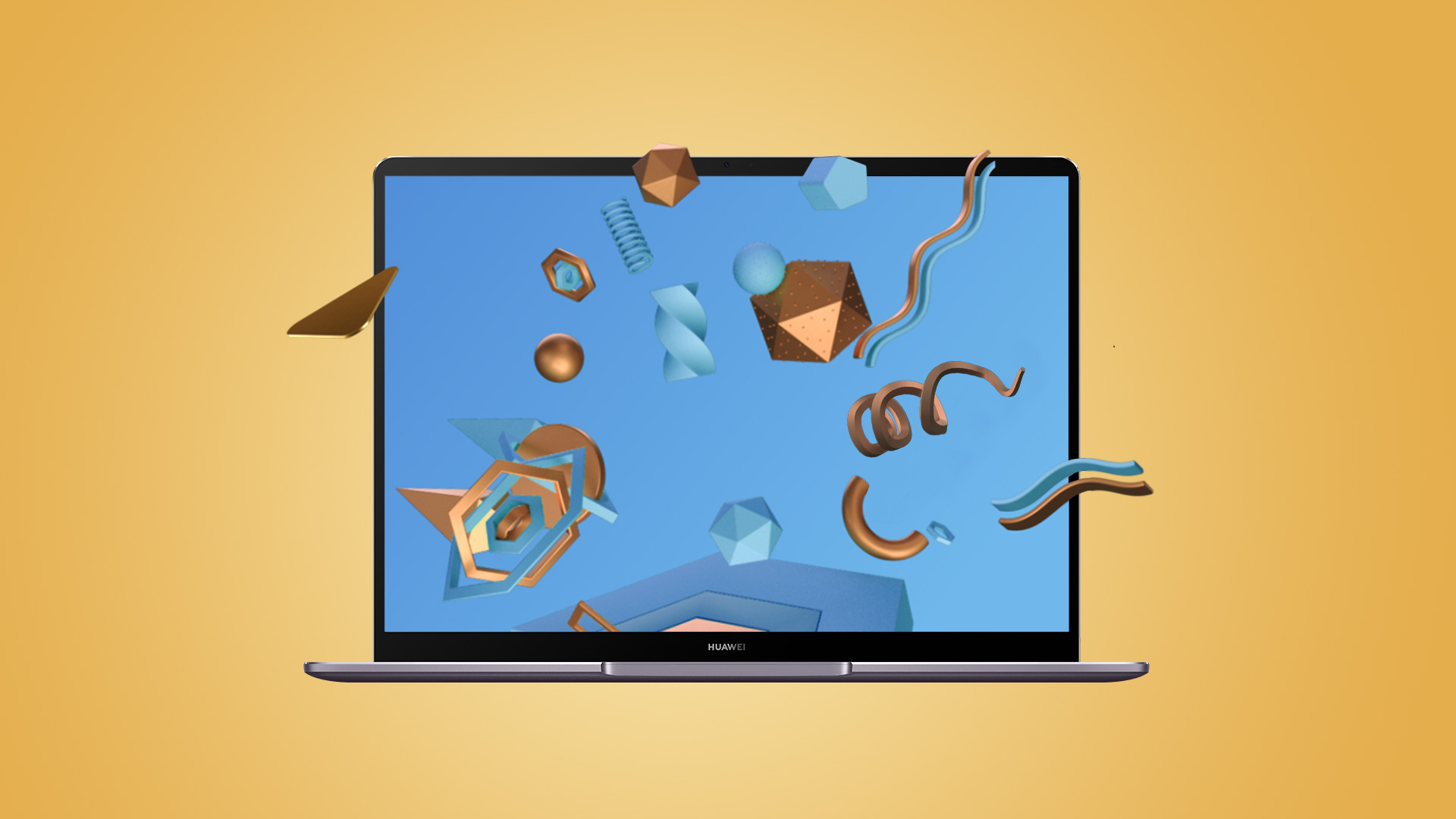 Huawei MateBook full view display with unique horizon