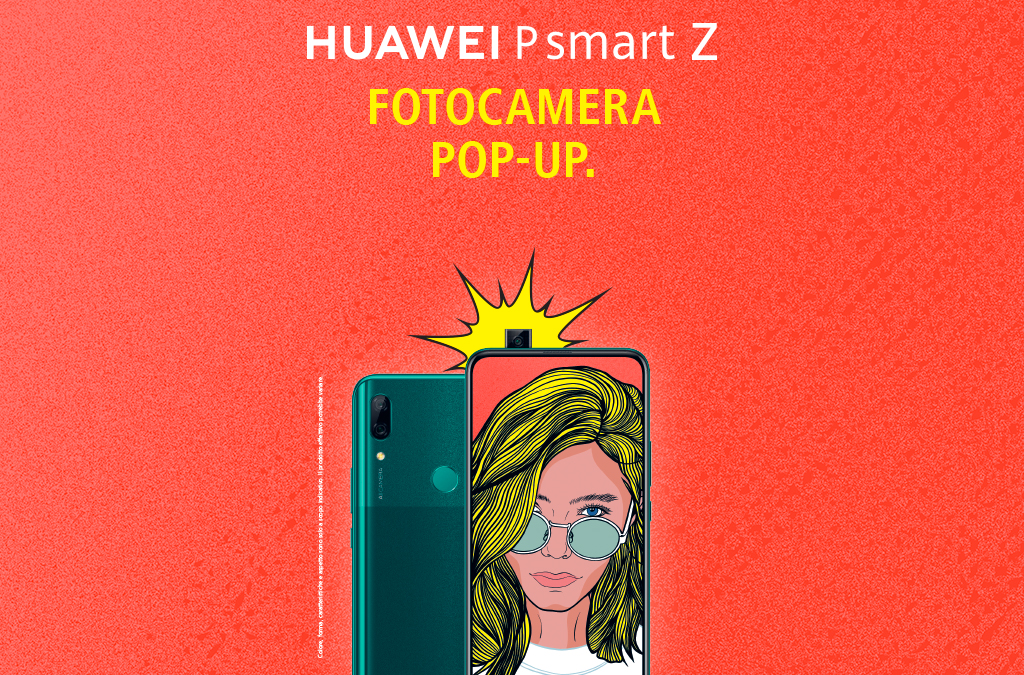 Huawei P Smart Z Foto Camera Popup