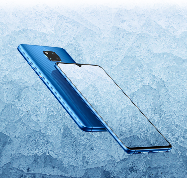 Huawei mate20 x dual advanced cooling system mob
