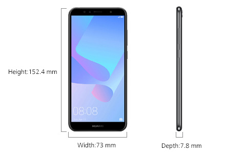 HUAWEI Y6 2018 Specifications | HUAWEI UK