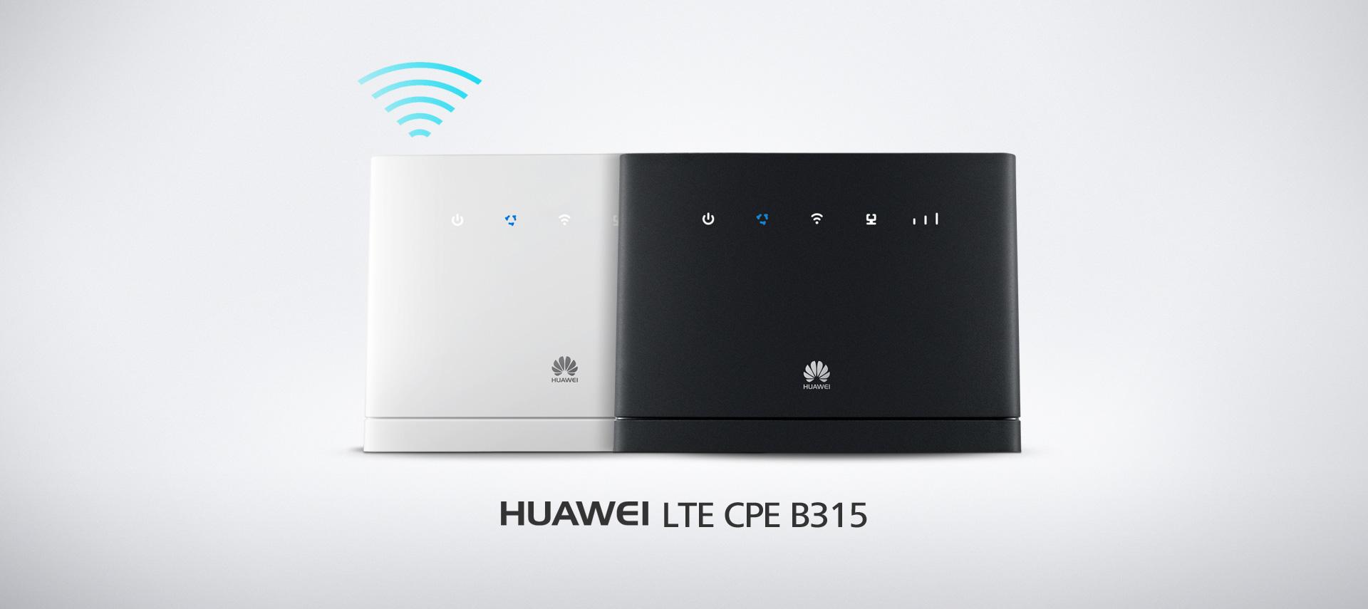 Lte Cpe B315 Wireless Gateway Wi Fi Sim Card Router