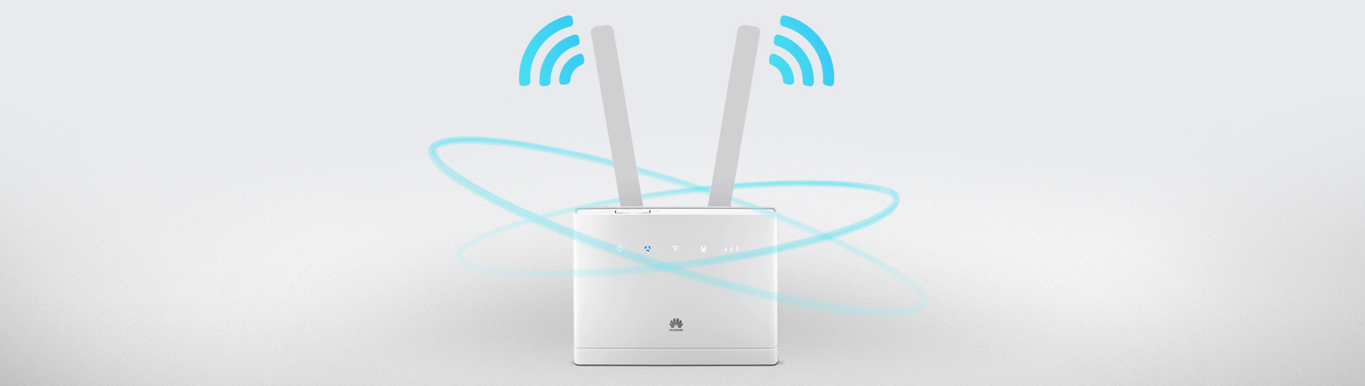 Strong 250-meter Wi-Fi coverage